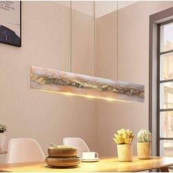 ROSALIA - loftowa lampa sufitowa z artystycznym efektownym wykończeniem Dom i Ogród