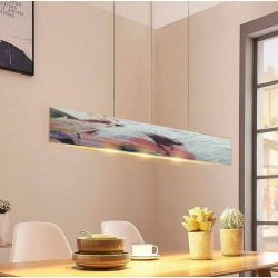 ROSA - nowoczesna lampa loftowa abstrakcyjna z artystyczną strukturą ręcznie wykonana Dom i Ogród