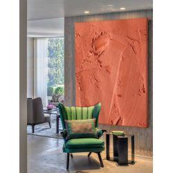 SALMON - Ekstrawagancki nietypowy obraz na ścianę do nowoczesnego modnego pomieszczenia Antyki i Sztuka