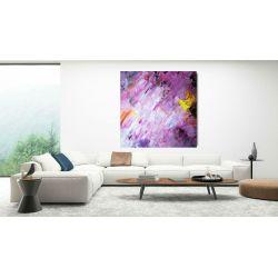 nowoczesny obraz na dużym płótnie 120x120cm Obrazki i obrazy