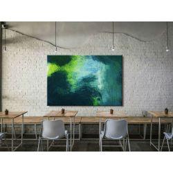 obraz nowoczesny malowany -  duży 100x150cm Obrazki i obrazy