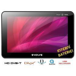 Przenośny telewizor/tuner DVB-tHD EVOLVE z bater./MKV,USB