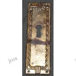 Plakietka z dziurka na klucz