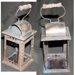 Stara miedziana obudowa lampy karbidowej? swiecy?