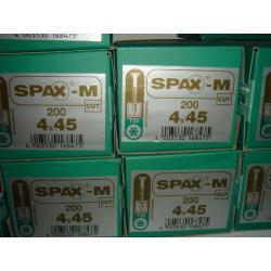 WKRĘTY SPAX -M  4X45 OP 200 SZT  TORX 20 CAT