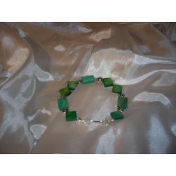 B-00003 Bransoletka na rękę z kostek masy perłowej Bransoletki
