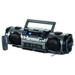TUBA SUPER RADIO CD MP3 2X KASETA MP3 CD PILOT AUX