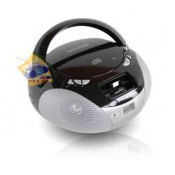 RADIOODTWARZACZ BOOMBOX CD IPOD PILOT GWARANCJA