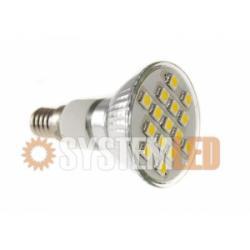Żarówka LED JDR E 14 SMD 15 ZIMNY