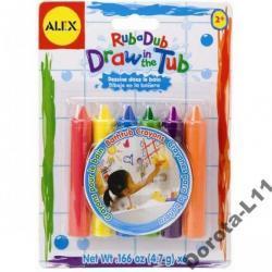 KREDKI do kąpieli, alex toys, 6 kolorów