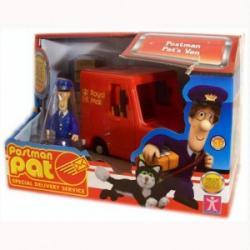 Samochód pocztowy z figurką Pata