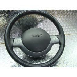 kompletna kierownica szara SMART Fortwo Airbag