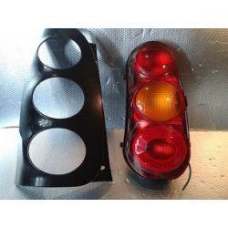SMART ForTwo 1998 lampa tylna lewa + ramka + maskownica