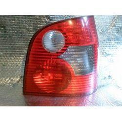 VW POLO lampa tylna prawa oryginał - uszkodzona pęknięty klosz