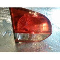 VW Golf 6 lampa tylna lewa w klape cała kompletna z wkładem oryginał