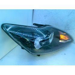 Ford Focus MK2 LIFT lampa czarna prawa przednia oryginał