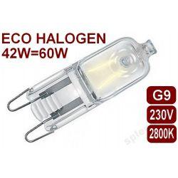 Żarówka halogenowa ECO HALOGEN 230V G9 42W jak 60W