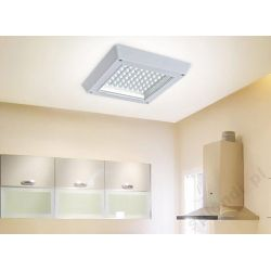 Lampa Żyrandol Plafon LED 12W-110W kwadrat zimna