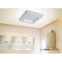 Lampa Plafon LED 12W-110W MILK kwadrat zimna