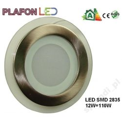 Panel LED PLAFON Oprawa cyble chrom 6W zimna