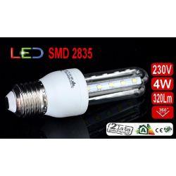 ŻARÓWKA energooszczędna 20 LED 4W 320Lm E27 zimna