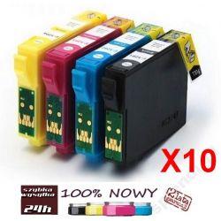 10 x Tusz EPSON T1291 T1292 T1293 T1294 SX435W