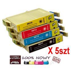 5x TUSZ EPSON T0611-4 D68 D88 DX3850 DX4250 DX4850