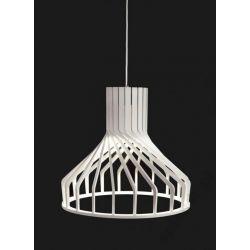 LAMPA LOFT DREWNO SKLEJKA BIO WHITE 6338 NOWODVORS