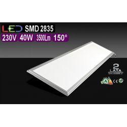 Panel LED 40W Lampa Sufitowa Oprawa 30x120 dzienn