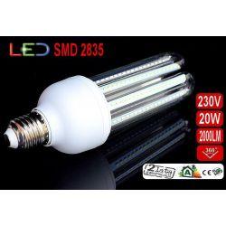 ŻARÓWKA LED E27 20W 2100Lm 96 SMD2835 ciepła