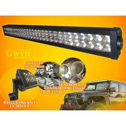 PANEL LED OFF ROAD HALOGEN 180W 60X3W 9-60V LAMPA
