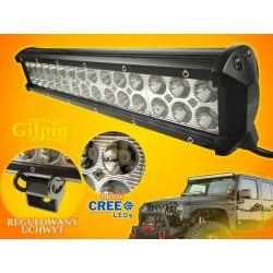 PANEL LED OFF ROAD HALOGEN 90W 30X3W 9-60V LAMPA