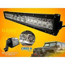 PANEL LED OFF ROAD HALOGEN 112W 4X10W 24X3W 9-60V