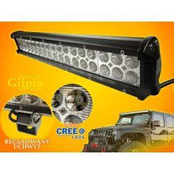 PANEL LED OFF ROAD HALOGEN 108W 36X3W 9-60V LAMPA