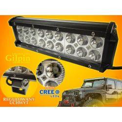 PANEL LED OFF ROAD HALOGEN 54W 16X3W 9-60V LAMPA