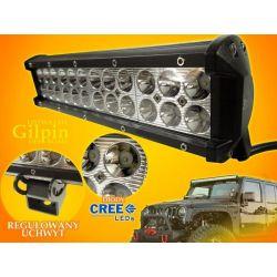 PANEL LED OFF ROAD HALOGEN 72W 24X3W 9-60V LAMPA