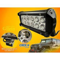 PANEL LED OFF ROAD HALOGEN 36W 12X3W 9-60V LAMPA