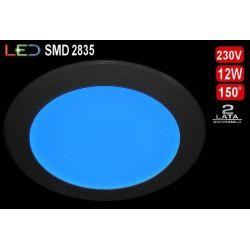 Panel sufitowy plafon LED SLIM 12W niebieski