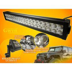 PANEL LED OFF ROAD HALOGEN 12W 40X3W 9-60V LAMPA