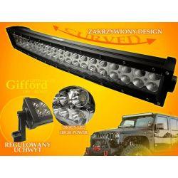 PANEL LED OFF ROAD HALOGEN 120W 40X3W 9-60V ŁUK