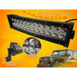 PANEL LED OFF ROAD HALOGEN 72W 24X3W 9-60V ŁUK