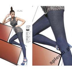 Bas Bleu JENIFER legginsy spodnie JEANS r.3/M