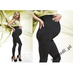 Leginsy Bas Bleu Melanie Ciążowe wysoki stan r5/XL