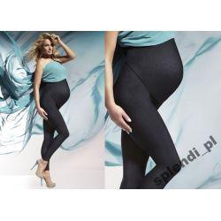 Leginsy Bas Bleu NADIA Ciążowe wysoki stan r.5/XL