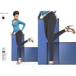 Bas Bleu ALICE legginsy spodnie suwaki  r.3/M
