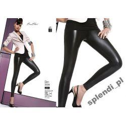 Bas Bleu ELEN legginsy spodnie latex skóra roz.3/M