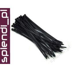 Opaski zaciskowe PCV 150/3.0mm / czarne /100szt.