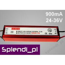 Zasilacz (driver) AC do LED 30W 900mA 24-36V