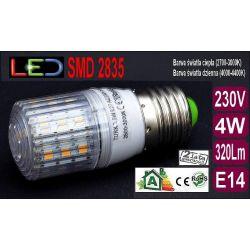 Żarówka TRK LED E27 SMD 2835 4,5W=45W RA80 ciepła