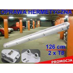 OPRAWA IP65 LAMPA DO ŚWIETLÓWEK LED 120cm